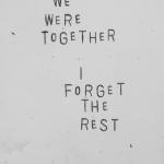 Läsnäolosta, johon unohtuu